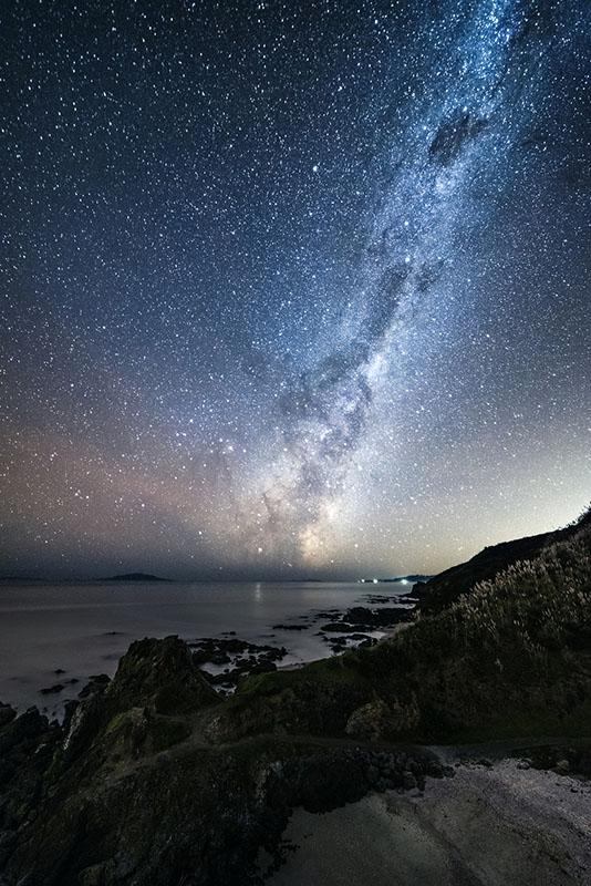 Milky way at Te Arai point