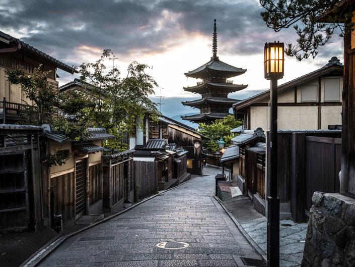 Yasaka Pagoda at Kyoto, Japan