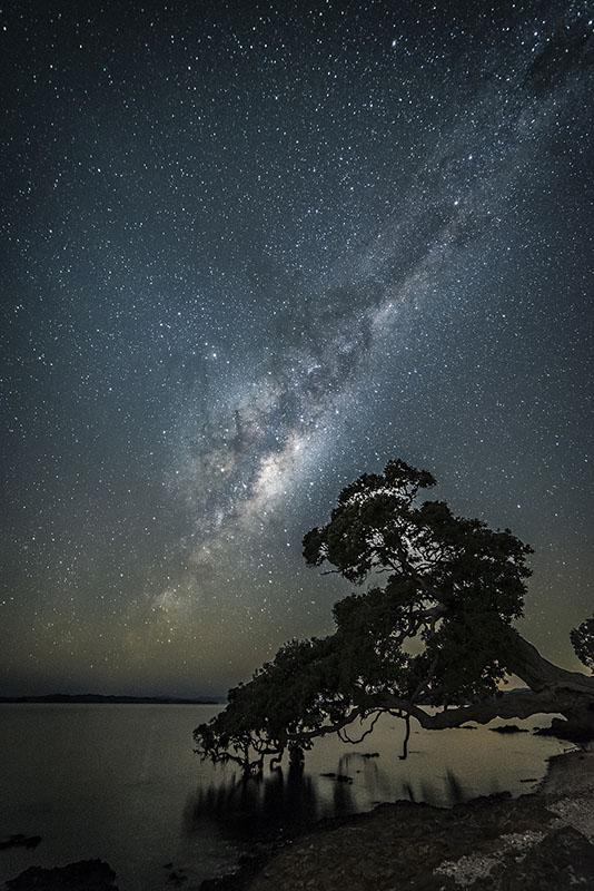 Milky way at Maraetai